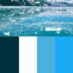 color scheme for glacial ice
