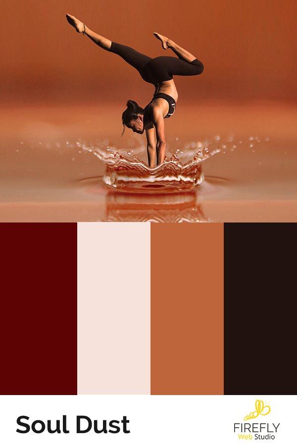 soul dust color scheme for new web site