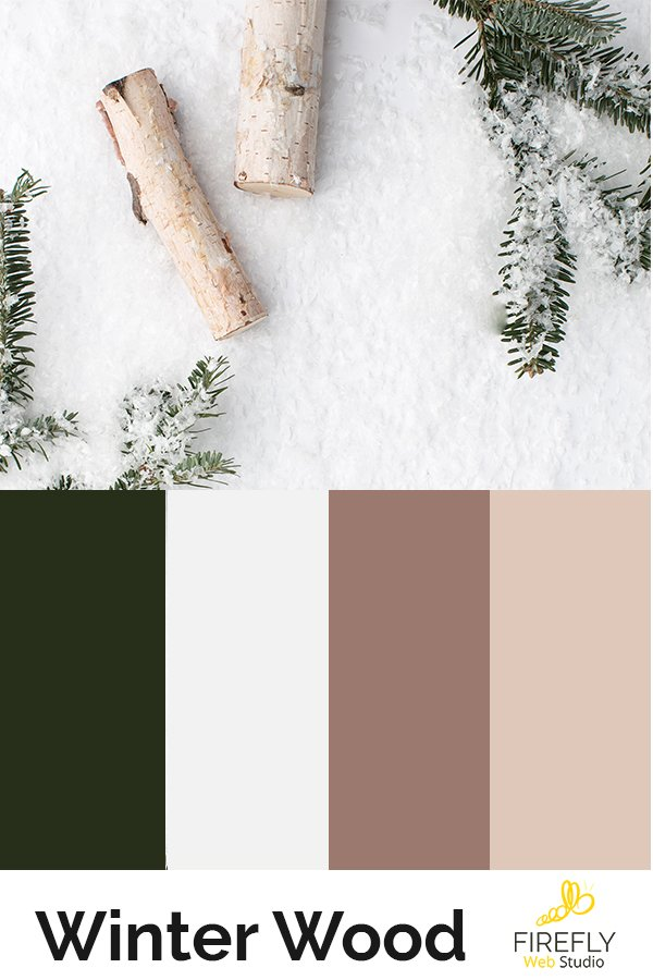 perfect color scheme for winter