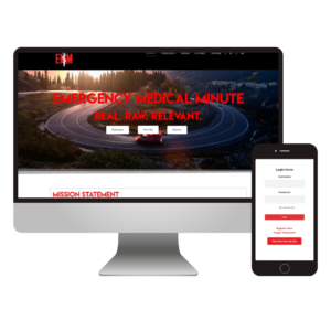 Emergency Medical Minute | Custom Podcast Website