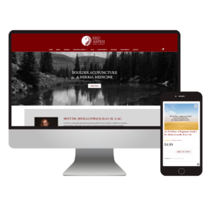 Red Aspen Wellness | Custom Acupuncture Website