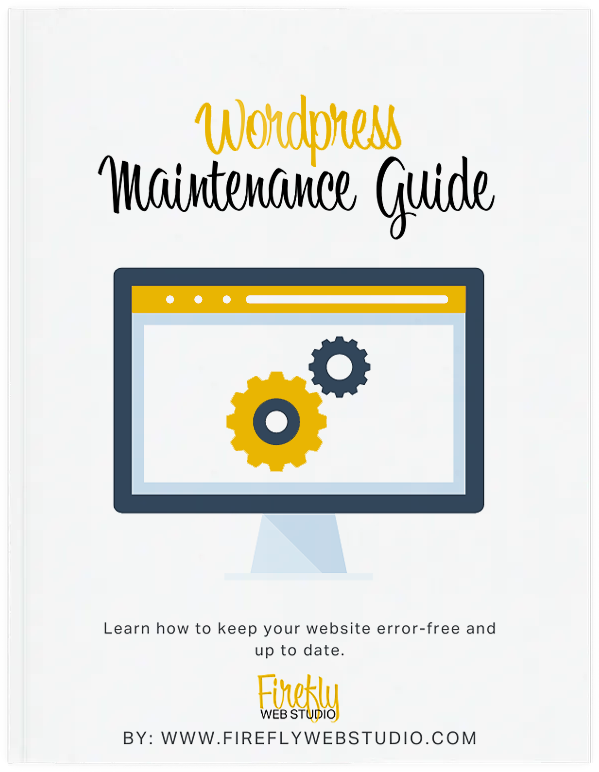 wordpress maintenance guide cover