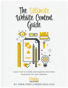 Ultimate Website Content Guide Cover