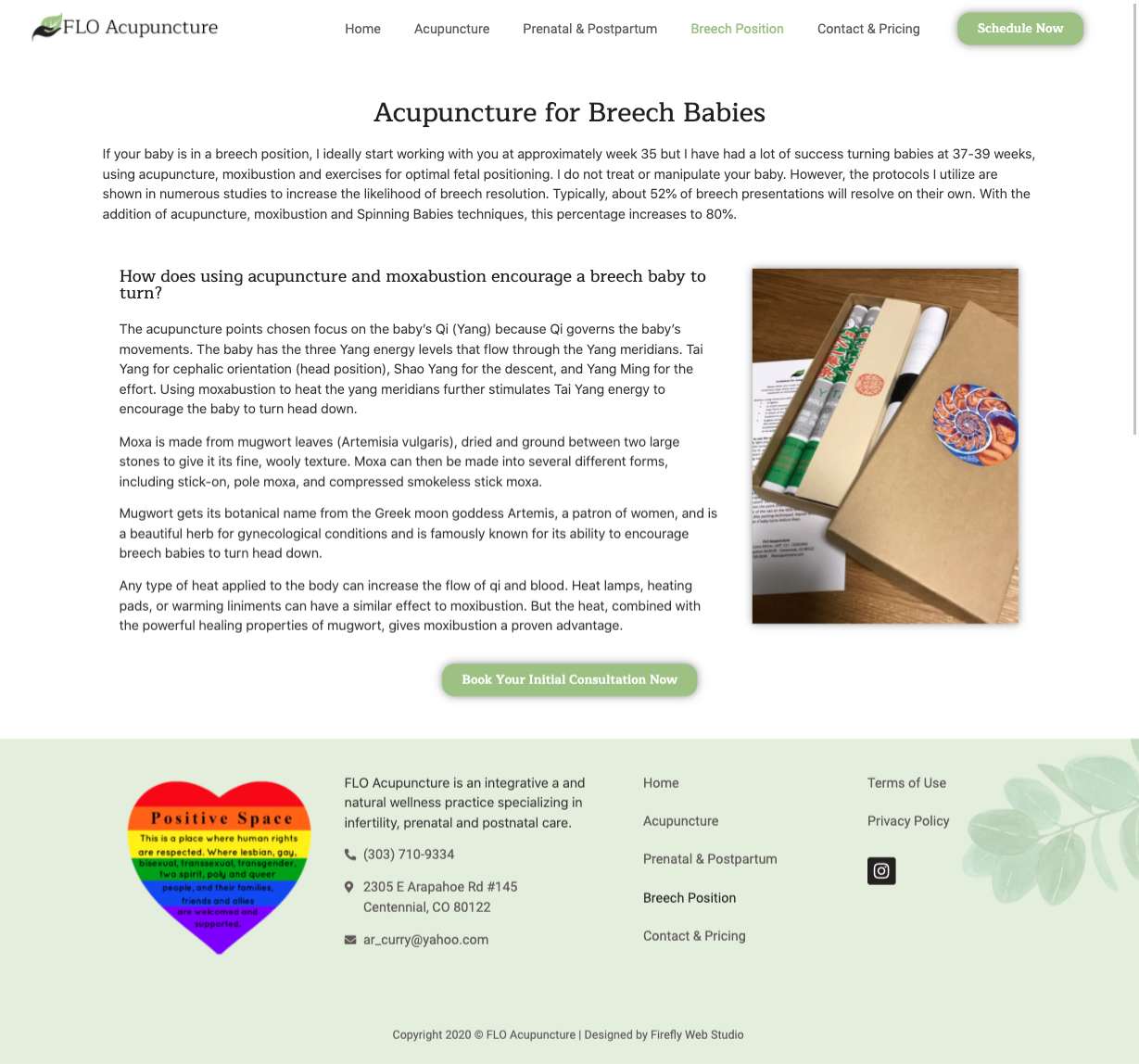 breech services page for acupuncture