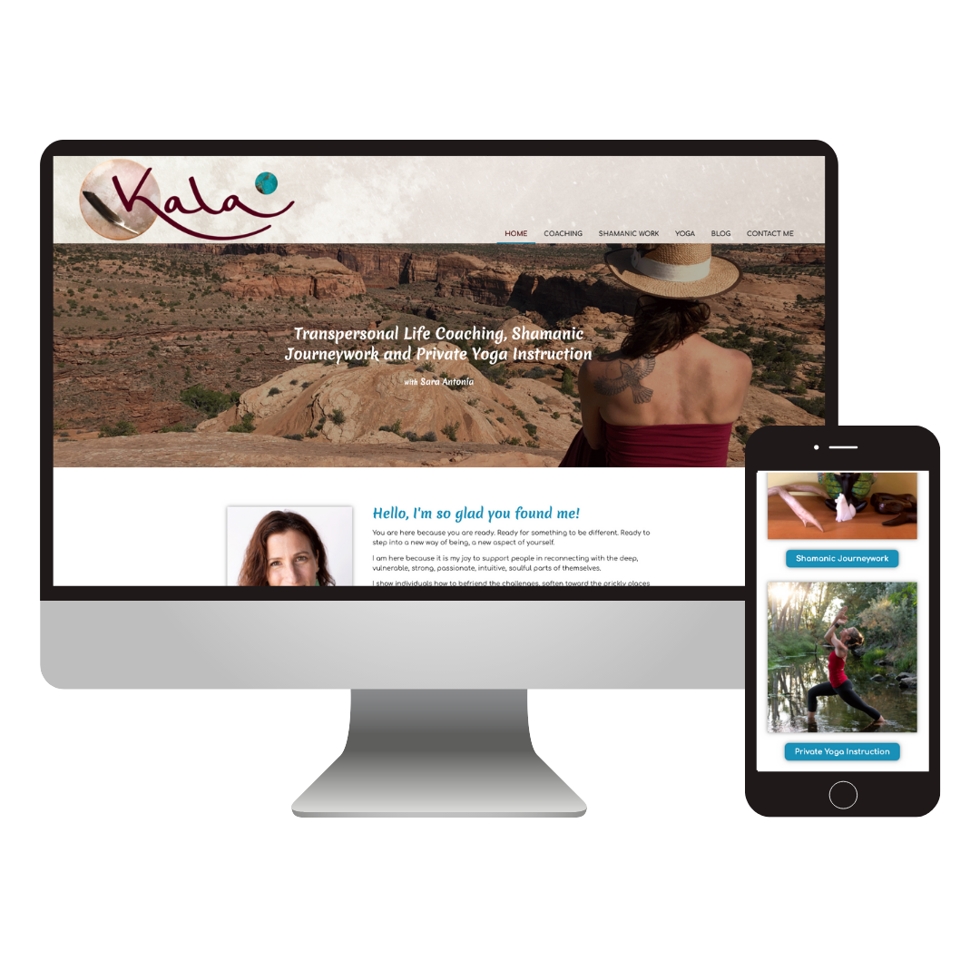 Kala Transpersonal Coaching | Custom Coaching Website