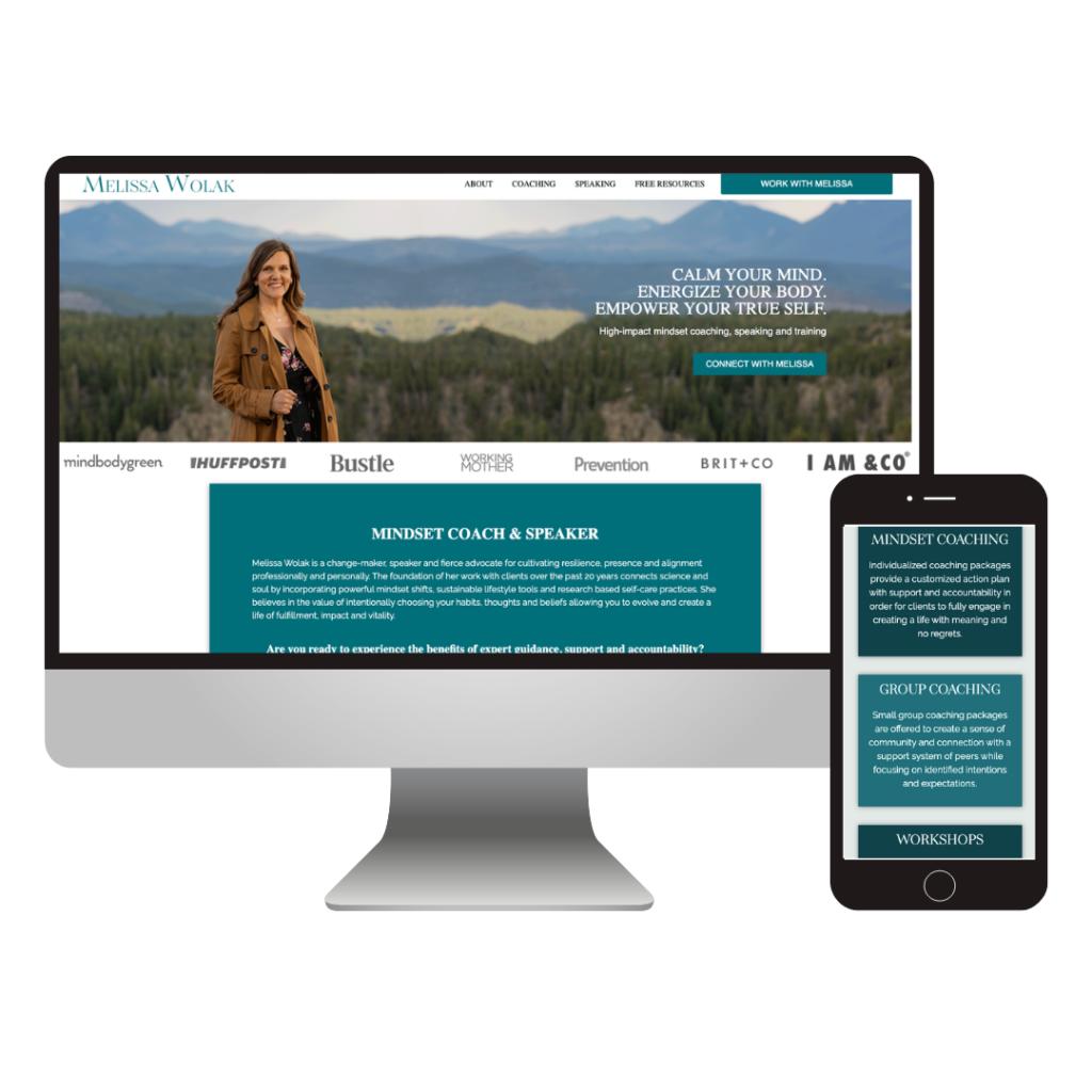mindset coaching website